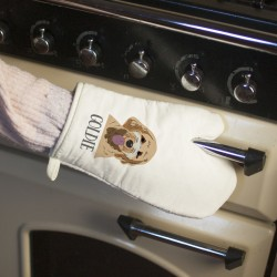 Personalised Dog Oven Glove