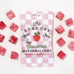 Gourmet Raspberry Marshmallow (Vegan) Bag (3 pack)