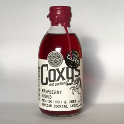 Coxy's Raspberry ACV Shrub Cordial