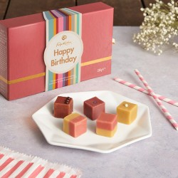 Happy Birthday Tuck Shop Sharer - Gourmet Fudge Selection