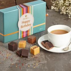 Happy Birthday Salted Sharer - Gourmet Fudge Selection