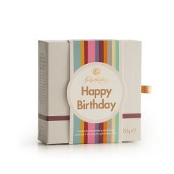 Happy Birthday Cream Tea - Gourmet Fudge Selection