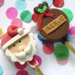 Personalised Santa Cakesicle