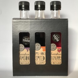 Infused Fruit Vinegar Triple Gift Set