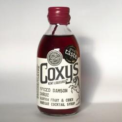Coxy's Spiced Damson ACV Shrub Cordial