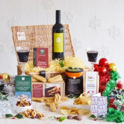 Mulled Wine and British Produce Christmas Hamper