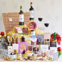 Luxury Christmas Food and Wine Hamper