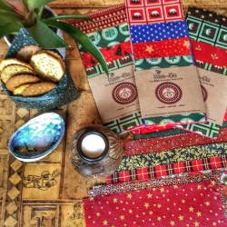 Reusable Beeswax Wraps - Limited Edition Christmas Pack