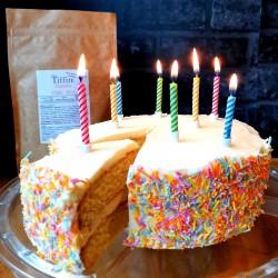 Vanilla Birthday Cake Mix - Keto, Low Carb, Sugar Free