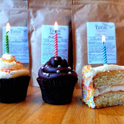 Birthday Cake Mixes - Keto, Low Carb, Sugar Free (Set of 3)
