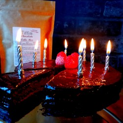 Chocolate Birthday Cake Mix - Keto, Low Carb, Sugar Free