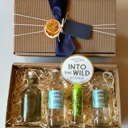 Luxury Scottish 20cl Into The Wild Vodka & Mixer Hamper