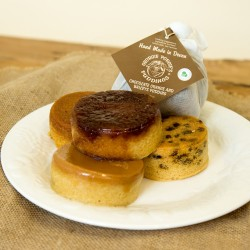 Chocolate & Orange Steamed Sponges and Pudding Selection Box