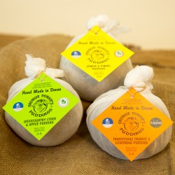 Handmade Fruity Vegan Puddings (Set of 3)