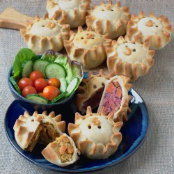 Award Winning Vegan Pies Selection Box (9 pies)