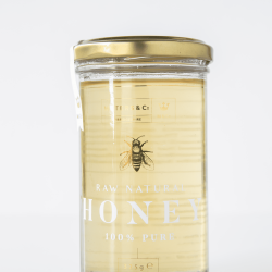Pure Raw Cambridgeshire Borage Honey 325g