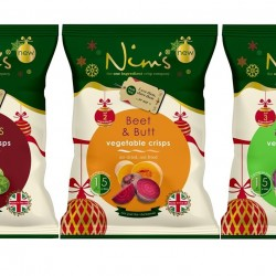 Nim's Christmas Crisps Share Bags (3 pack)