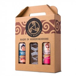 3 Cider Gift Packs (2 x 3 x 330ml) with glass