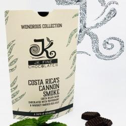 Costa Rica's Cannon Smoke - Wondrous Chocolates (Vegan Friendly) x 3 Cartons