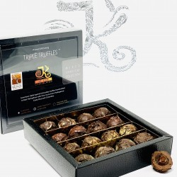 Triple Truffle Mixed Dark/Milk Chocolate Box (16 Truffles)