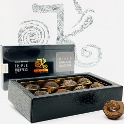 Triple Truffle Mixed Dark/Milk Chocolate Box (8 truffles)