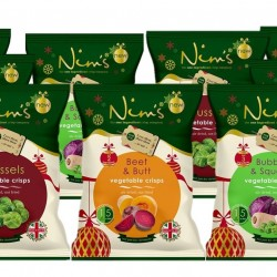 Nim's Christmas Crisps Party Pack (9 bags)