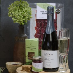 Sussex's Finest Hamper - Tastes of the Forest with Bolney Fizz