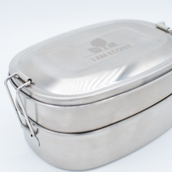 Reusable Double Tier Lunch Box (1000ml)