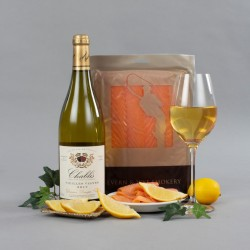 Salmon and Chablis Gift Set