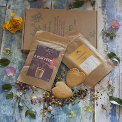 Rose Chai Tea And Cookies Gf And Vegan Letterbox Gift