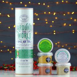 Around The World Spice Rub Tube Gift Set