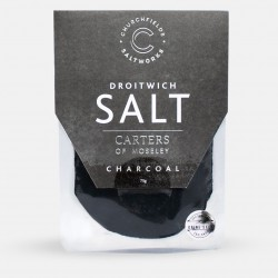 Pure Brine Salt Charcoal - Black Trumpet Mushroom & Garlic (75g)