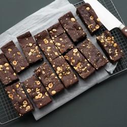 Hazelnut Luxurious Brownie Tray - Vegan & Gluten Free (14 Slices)