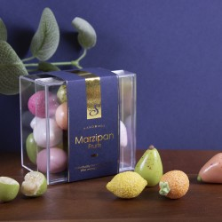 Handmade Vegan Sugar Coated Marzipan Fruits