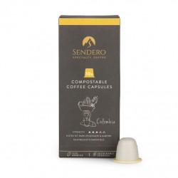 Compostable Coffee Capsules - Colombia (10 Capsules)
