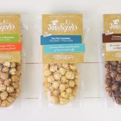 Gourmet Vegan Popcorn Set (3 x 80g Pouches)