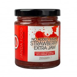 Janda No Added Sugar Strawberry Jam 200g