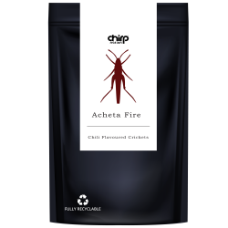 Acheta Fire | Chili Flavoured Crickets (40g)