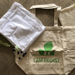 Reusable Eco Friendly Bags in Multiple Sizes (7 Bags)