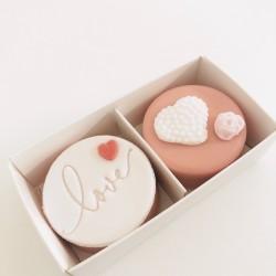 Love Coated Oreo Twin Gift Box