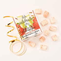 Let's Celebrate Marc de Champagne & Strawberry Marshmallows (Vegan)
