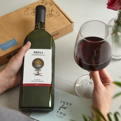 Letterbox Wine - Red Wine with Personalised Card