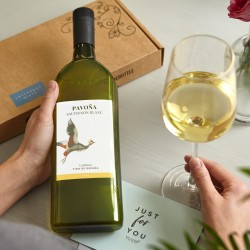 Letterbox Wine - Sauvignon Blanc White Wine with Personalised Card