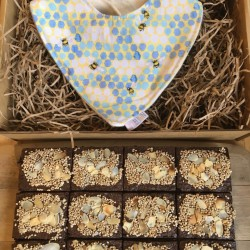 New Mum & Baby Gift Box with Lactation Brownies