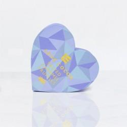 Blue Heart Salted Caramel Truffle Box