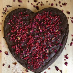 Valentine's Heart Brownie