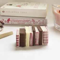 Miniature Chocolate Books