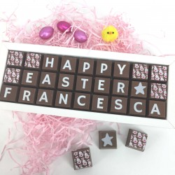 Personalised Happy Easter Chocolates