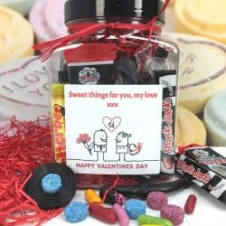 Personalised Retro Liquorice Lovers Jar