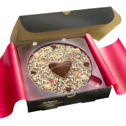 Valentine's Chocolate Pizza